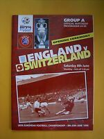 European Championship Opening Ceremony - England v Switzerland - 8th June 1996