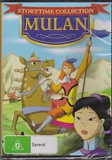 MULAN - STORYTIME COLLECTION - DVD - NEW -