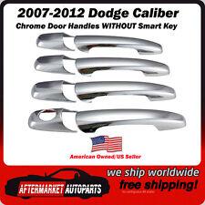 2007-2012 Dodge Caliber 4 Door Chrome Trim Door Handle Covers Ships in USA Fast