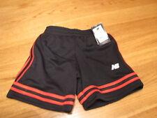 Boy's New Balance Active shorts 4 black red New Nwt Nb