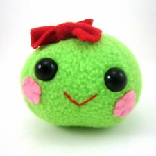 SWEET PEA DESIGNER PLUSH GREEN PEA FIGURE BY FLAKY FRIENDS TOYS