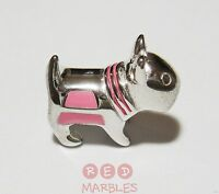 Sterling Silver 925 New Childrens Scotty Dog Charm Bead. Little Rhona Sutton.
