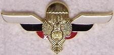 Large Hat Pin International Russia Russian Jump Wings Jacket Epaulet NEW
