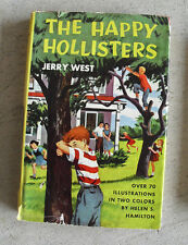 Vintage 1953 Childrens Book - The Happy Hollisters by Jerry West