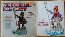 UNSINKABLE MOLLY BROWN - CAPITOL LP - ORIG. BROADWAY CAST + SOUVENIR PROGRAM