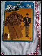 abbigliamento KEN MATTEL IN BOX NEW anni 80-1983