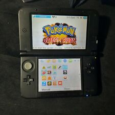 Nintendo 3DS XL Blue/Black with mario case and  charger authentic