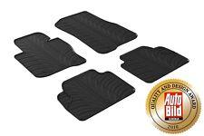Fußmatten für BMW 4er F36 Gran Coupe 2014-2020 Passform Hoher Rand Gummi Schwarz