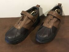 Ralph Lauren Mens Polo Boots Oxfordable III Leather Hiking Shoes Sz. 12 M