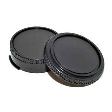 2pcs Body Cover Lens Rear Cap for CANON FD Camera and Lens Protect Accessory