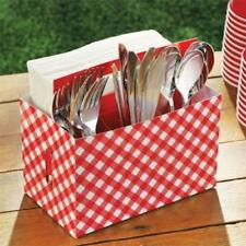 Gingham Paper Party Napkins