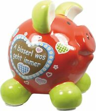 Swiggie-Sparschwein groß - Heimatzauber - A bisserl wos geht immer