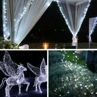 LED Solar String LightsCopper Wire Fairy Outdoor Garden Waterproof Party S0D8