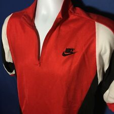 VTG 90s Nike Cycling Jersey Red Bicycle Rare Original 1990s USA made *M