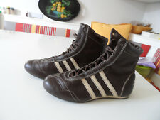 Chaussures/Baskets montantes en cuir femme Adidas T35/36