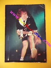 CARTOLINA PROMOZIONALE POSTCARD ACDC AC/DC  Angus 10x15 cm no cd dvd lp mc vhs