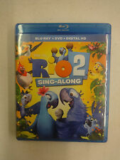 Rio 2 Sing-Along (Blu-ray/DVD) Used, Discs=Near Mint, Case=Good
