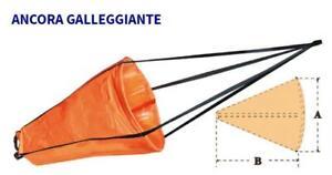 ANCORA GALLEGGIANTE PVC 53X73 BARCA MOTOSCAFO GOMMONE FINO A 4,5 MT PESCA KAYAK