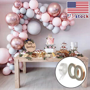 174pcs Rose Gold Birthday Party Decorations Happy wedding Balloons Banner