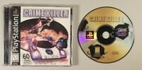 Crime Killer CIB Tested (Sony PlayStation 1, 1998) Complete w/ Registration Card