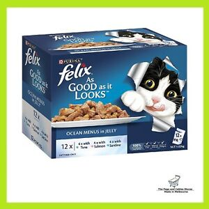 Felix As Good As It Looks Ocean Menus, 60X85g