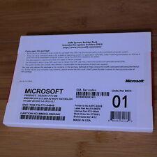 Microsoft Windows Server Standard 2008 R2 64-Bit (1 - 4CPU, 5CALs) OEM P73-04849