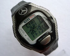Mercedes Benz Digital Heart Rate Pacer Monitor Fitness Sport Chronograph Watch