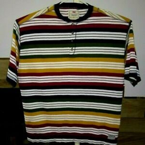 NWOT   Vintage   Levi's   Striped   Thick      Pullover   Top    XL