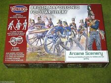 Victrix BRITISH NAPOLEONIC FOOT ARTILLERY 28mm Napoleonic set