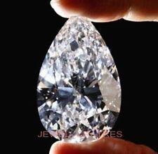 Loose Pear 7mm Cut 2.10ct VVS1-D White Brilliant Lab Diamond Loose Solitaire