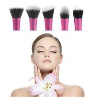 Professional Cosmetic Stipple Fiber Powder Blush Brush Foundation Makeup Tool UK