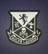 Rare Polo Ralph Lauren Skull Crest Patch