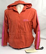 Outback Trading Packable Jacket S Hood Orange Pink Parka Camping Hiking Outdoor