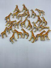 Plastic Zoo Animals #10 Lot Of 24 Giraffes Safari Jungle Party Favor Toy POS