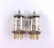 2x Valvo E180F 6688 6J9P Gold Pin 3-MICA military tubes pair NOS