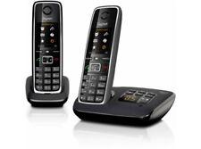 Gigaset C530A DUO schwarz 2x DECT Telefon mit AB NEU + VOM HÄNDLER