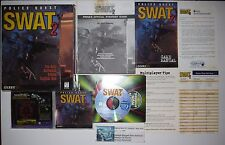 Police Quest: SWAT 2 (PC, 1998) Complete in Box CIB with Strategy Guide!