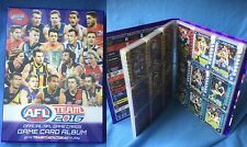 2016 AFL Teamcoach Trading Cards Complete Common Base Set (234 Cards) In Album