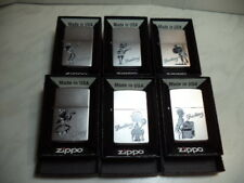 ZIPPO ACCENDINO LIGHTER SMOKING SERIES  SET 6 PEZZI  ANNO  2010 NEW
