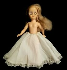 "Vintage 1974 Vogue Sleepy Eye 14"" Doll With Fancy Petticoat"