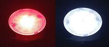 MARINE BOAT RV TRAILER LED BRIGHT WHITE RED SLIM CEILING LIGHT STAINLESS STEEL