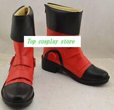 Yu-Gi-Oh!  Yu Gi Oh GX Yuki Judai Jaden Yuki Cosplay Shoes Boots shoe v2  #JZ648