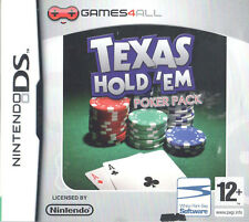 Texas Hold 'Em Poker Pack Nintendo DS 12+ Card Game