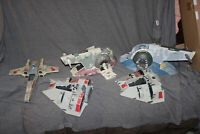 STAR WARS JAWA SCRAP VEHICLE LOT BIG SLAVE 1 POTF SNOWSPEEDERS X WING