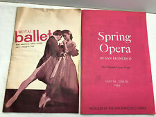 New ListingSan Francisco Royal Ballet 1965 & Spring Opera 1966 War Memorial Opera House