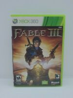 Fable III 3 (Microsoft Xbox 360/Xbox One, 2010) COMPLETE, TESTED
