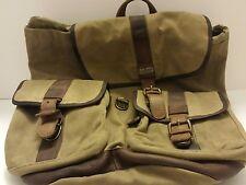 L.L.Bean main guide waxed canvas backpack rucksack