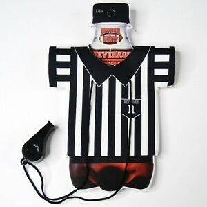 Referee Drink Cozy Whistle Football Sports Theme Party Favor