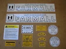 Ih Mccormic Farmall Super A New Decal Set For Tractors Mylar 21 49 1