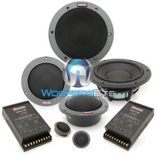 "ESOTEC SYSTEM 342 DYNAUDIO 7"" 3-WAY COMPONENT SPEAKERS MIDS TWEETERS CROSSOVERS"